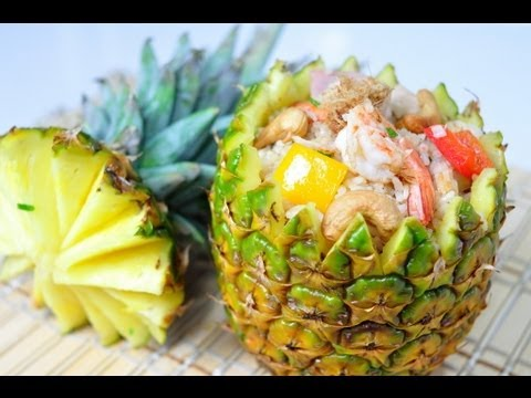[Thai Food] Baked Rice in Pineapple (Kao Aob Sub Pa Rod)