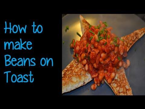 How to make Baked Beans on Toast – Simon Lam's Yum Yum Food