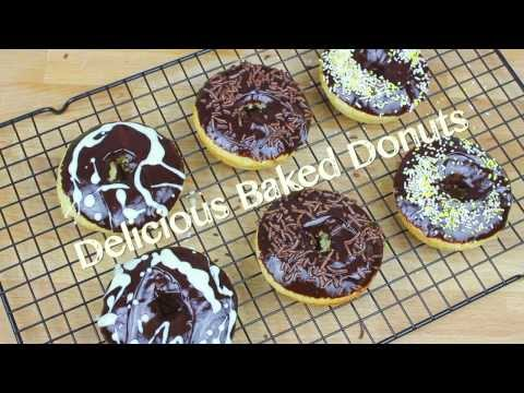 Delicious Baked Donuts [Delicious Food Adventures]