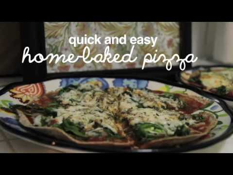 Quick and Easy Home-Baked Pizza! {Food Babe}
