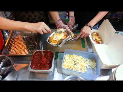Street Food: Baked potato (Sweet and Sour baked Potato)