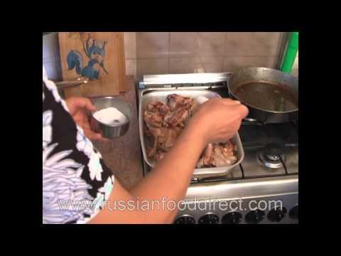 Russian Food Recipe – Baked Rabbit