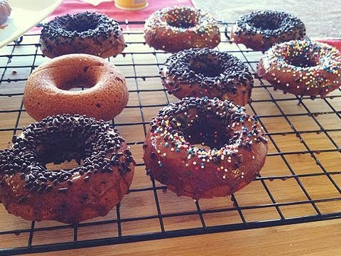Baked Nutella Donuts Recipe by: Food Luv Bites