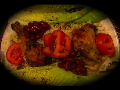 African Food Recipe (Baked Exotic Chicken By  Juka's Organic Co.)