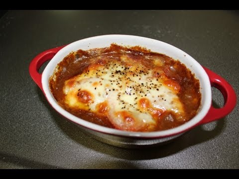 Japanese Junk Food: Baked Mochi & Cheese Curry Recipe 嫉妬(やきもち)カレーレシピ