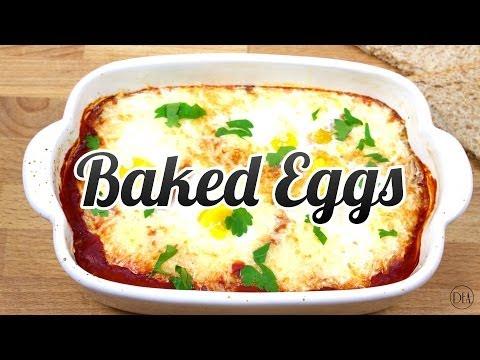 Super Simple Baked Eggs – Recipe [Delicious Food Adventures]