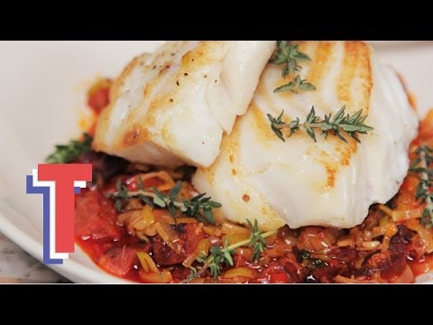 Baked Cod With Chorizo: Food Fest S04E5/8