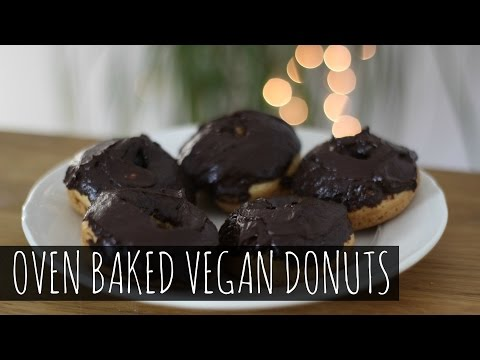 Fast Food Friday: Healthy Baked Vegan Donuts