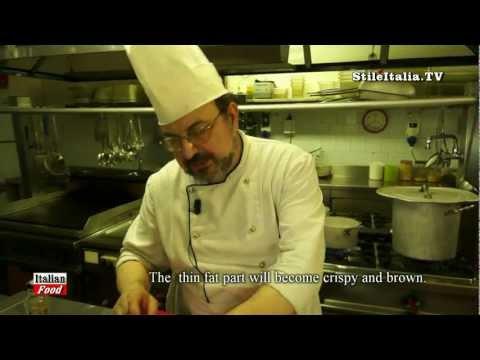"""""""Italian Food"""" – """"Spaghetti alla Carbonara""""  –   Checchino dal 1887  – by Stile Italia TV"""