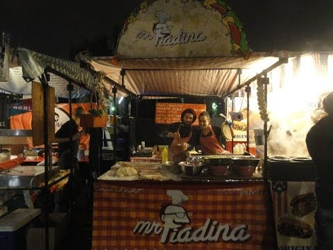 Mr Piadina – Italian Street Food stall located in Camden Lock Market, London – November 2013