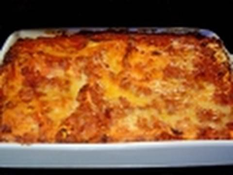 Christmas Lasagna how to make recipe with non traditional béchamel sauce – Italian Food lasagne