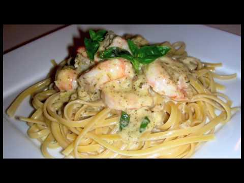 Pesto Shrimp Linguini Recipe – Delicious Italian Food