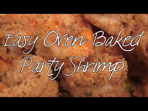 Food Friday:  Easy Oven Baked Party Shrimp!
