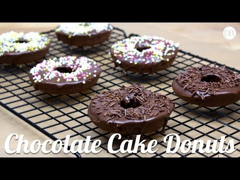 Baked Chocolate Donuts – Recipe [Delicious Food Adventures]