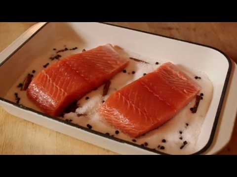 Food Wishes Recipes – Salmon Baked on Salt Recipe – Salmon Baked on Aromatic Salt