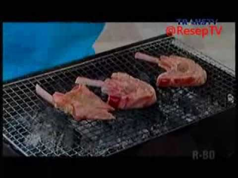 Resep Masakan Grilled Lamb Chop With Barbeque Sauce ala Chef Priscil