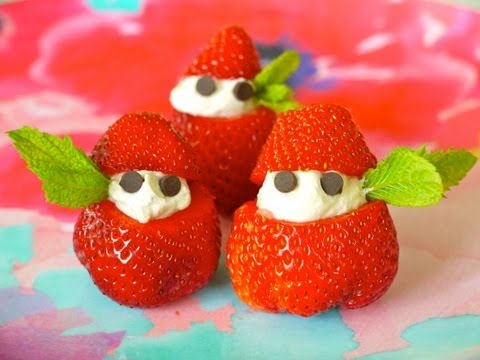 Healthy Snack Recipe for Children: How to Make Strawberries & Cream with Kids – Weelicious