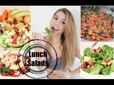 Get Healthy With Me | Lunch Salads!