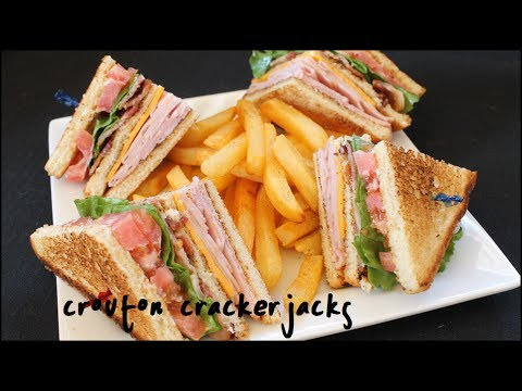 How to Make Club Sandwiches – Club Sandwich Recipe