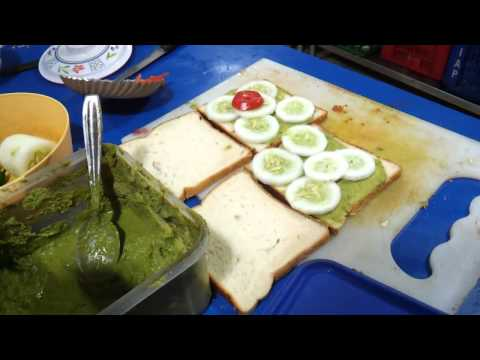 How to prepare veg-sandwich – Simple steps