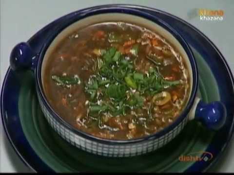 Hot & Sour Vegetable Soup – Sanjeev Kapoor – Khana Khazana
