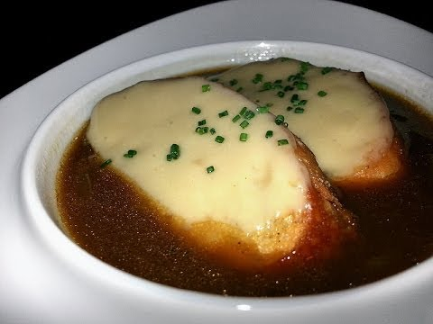 REAL Classic French Onion Soup – THE FULL MONTY! (professional Michelin Star restaurant recipe)