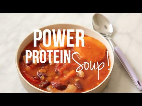 Essie Eats: Power Protein Soup Recipe!