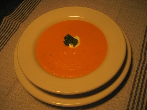 CREAMY CARROT SOUP – How to make an easy CARROT SOUP Recipe