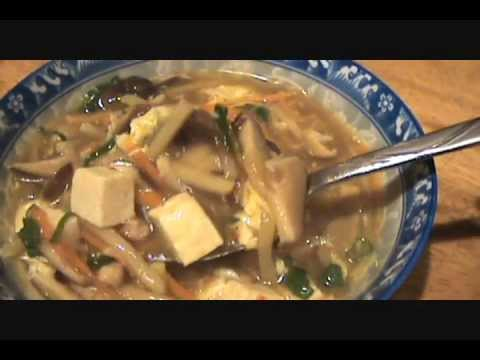 HOT AND SOUR SOUP – HOW TO MAKE – 酸辣湯 – HOME MADE