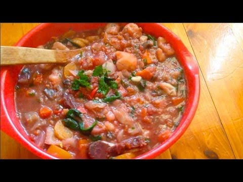 Raw till 4 Spicy Veggie Soup for weight loss