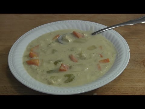 "Craig""s Kitchen – Creamy Chicken And Rice Soup"
