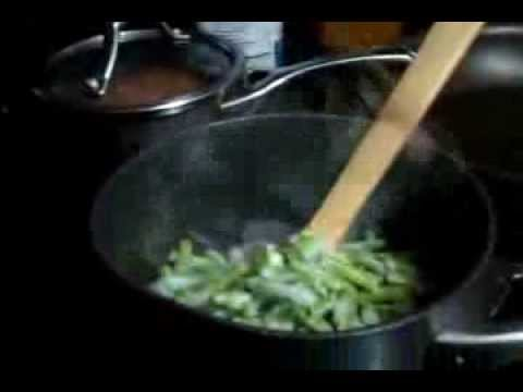 Grab & Go Snacks & Meals:  Cooking Frozen Green Beans& making it your own