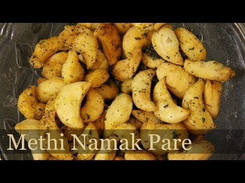 Methi Namak Pare / Nimki Recipe | Savory Snack | Indian Snacks Recipes | foodsandflavorsbyshilpi.com