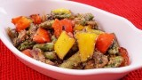 Vegetables With Basil Pesto Sauce Recipe: Easy Side Dish! Diane Kometa-Dishin' With Di Recipe  #78