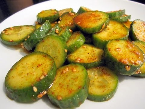 Spicy Korean Cucumber Side Dish (오이무침) [Special]