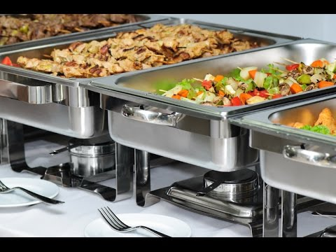 Buffet Equipment: Chafing dishes, dinner plates, cutlery, etc. Coventry UK