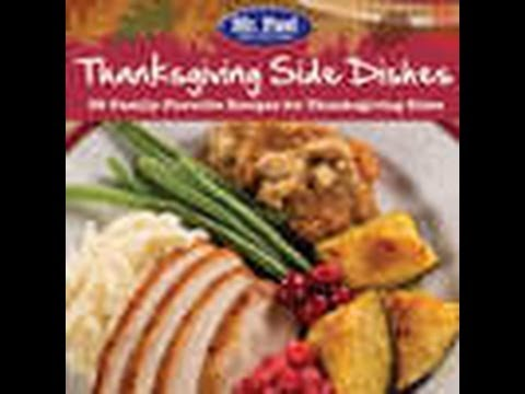 Thanksgiving Side Dishes: 35 Family-Favorite Recipes for Thanksgiving Sides Free eCookbook