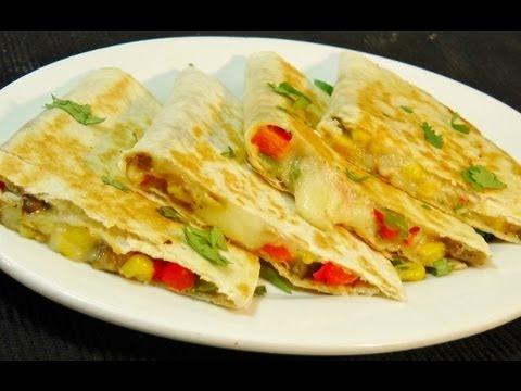 Vegetable Quesadilla – Easy Mexican Recipe