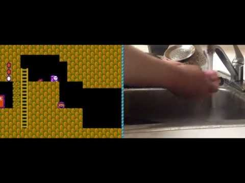ASMR After Dinner Dishes and NES play
