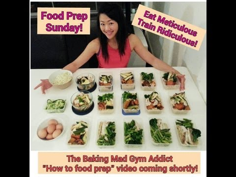 THE ULTIMATE GUIDE TO FOOD PREPPING – How to make 15 clean healthy meals in under 2 hours