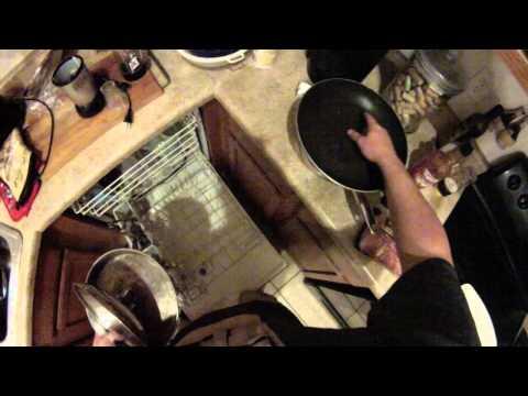 GOPRO Starting Dinner Doing The Dishes