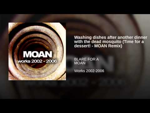 Washing dishes after another dinner with the dead mosquito (Time for a dessert! – MOAN Remix)