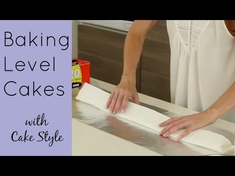 Baking Flat Level Cakes and Lining Cake Pans