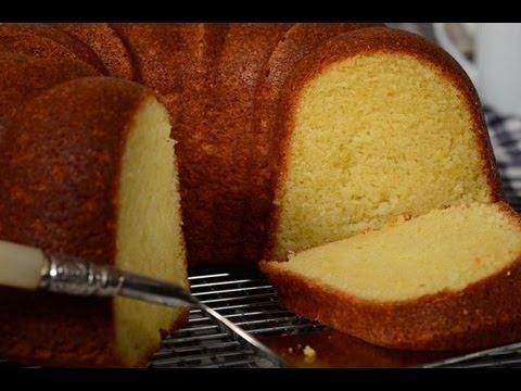 Cream Cheese Pound Cake Recipe Demonstration – Joyofbaking.com