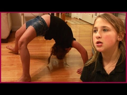 Kids Baking a Cake – Gymnastics Back Bend Fail – Scary Basement – Baby Taking a Nap