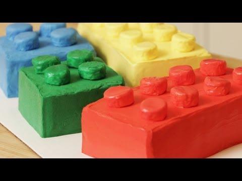 HOW TO MAKE A LEGO CAKE – NERDY NUMMIES