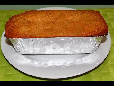 How to Bake Banana Cake Recipe – English