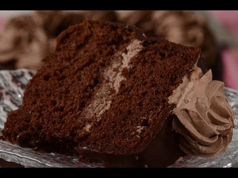 Chocolate Chiffon Cake Recipe Demonstration – Joyofbaking.com