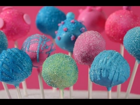 Cake Pops Recipe Demonstration – Joyofbaking.com