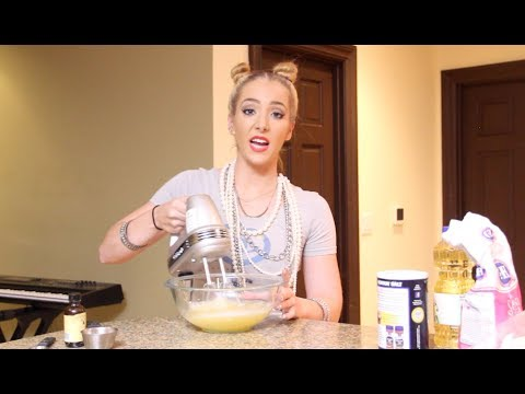 Baking With Miley Cyrus